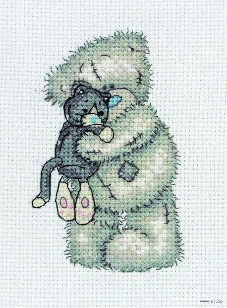 """Вышивка крестом """"Ласковый котенок"""""""