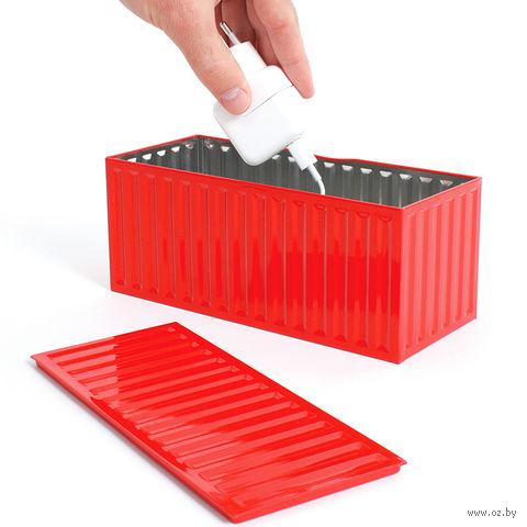 """Контейнер для хранения """"Box"""" (красный)"""