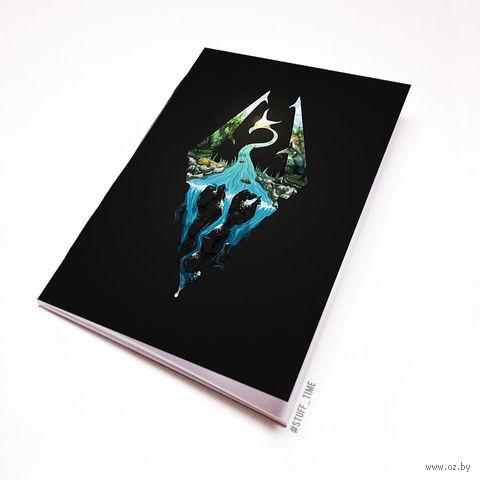 """Блокнот """"Скайрим"""" (А5; арт. 668) — фото, картинка"""
