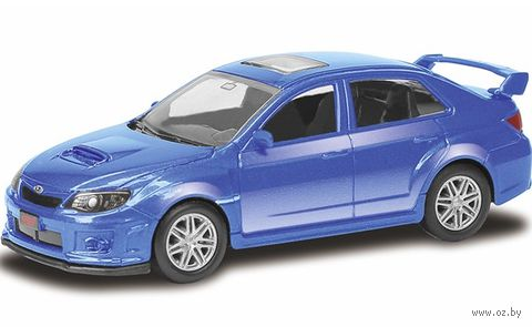 """Модель машины """"Subaru WRX"""" (масштаб: 1/64)"""