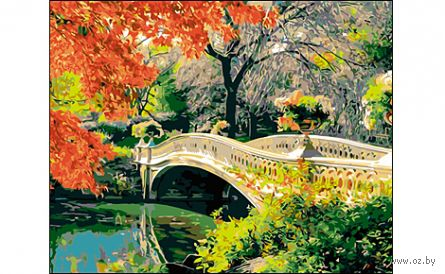 "Картина по номерам ""Романтичный мост"" (400x500 мм)"