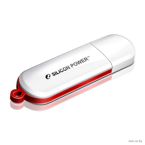 USB Flash Drive 8Gb Silicon Power Luxmini 320 (White)