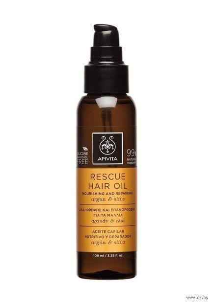 "Масло для волос ""Rescue Hair Oil"" (100 мл) — фото, картинка"