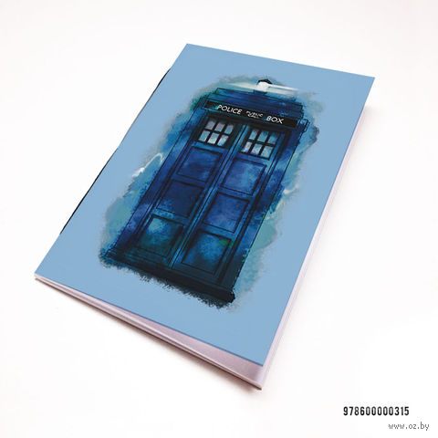 "Блокнот ""Доктор Кто. Тардис"" (А7; арт. 315) — фото, картинка"