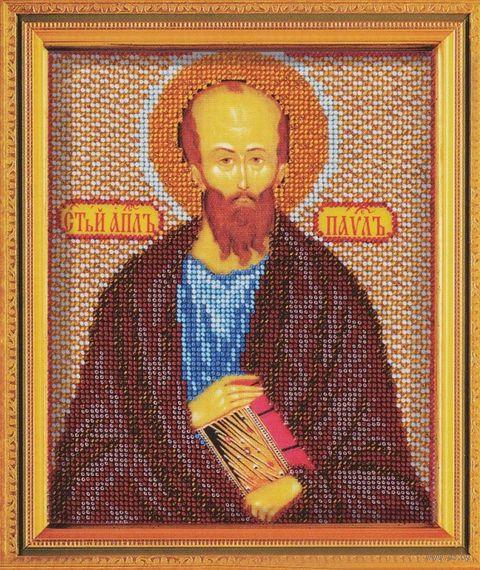 "Вышивка бисером ""Святой Апостол Павел"" (120х145 мм) — фото, картинка"
