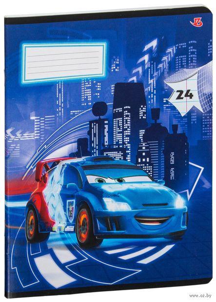 "Тетрадь в линейку ""Cars"" (24 листа; в ассортименте) — фото, картинка"