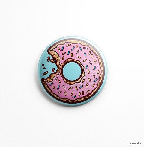 """Значок маленький """"Пончик"""" (арт. 263) — фото, картинка"""
