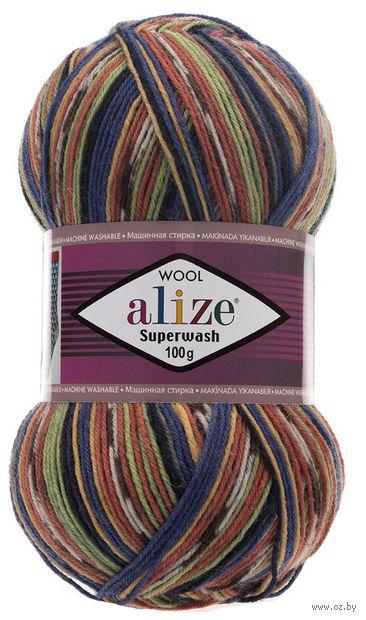 ALIZE. Superwash 100 №2701 (100 г; 420 м) — фото, картинка
