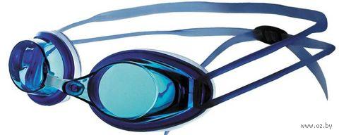 Очки для плавания (синие; арт. N401) — фото, картинка