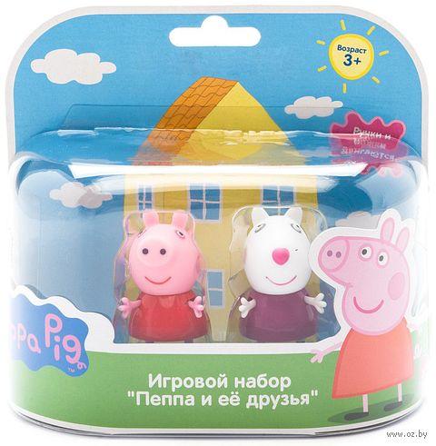 "Набор фигурок ""Peppa Pig. Пеппа и Сьюзи"" (2 шт.) — фото, картинка"