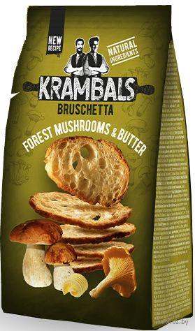"""Сухарики """"Krambals. Лесные грибы"""" (70 г) — фото, картинка"""