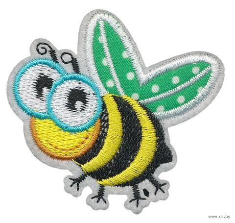 """Термоаппликация """"Довольная пчёлка"""" — фото, картинка"""