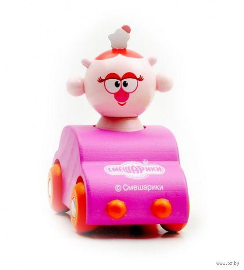 """Деревянная игрушка """"Машинка Нюши"""""""