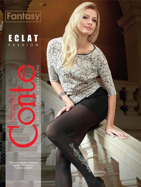 """Колготки женские фантазийные """"Conte. Eclat"""" (арт. 1012810032)"""