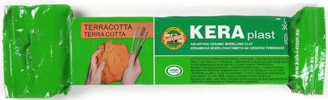 """Масса керамическая """"KERAplast"""" (терракотовый; 300 г) — фото, картинка"""