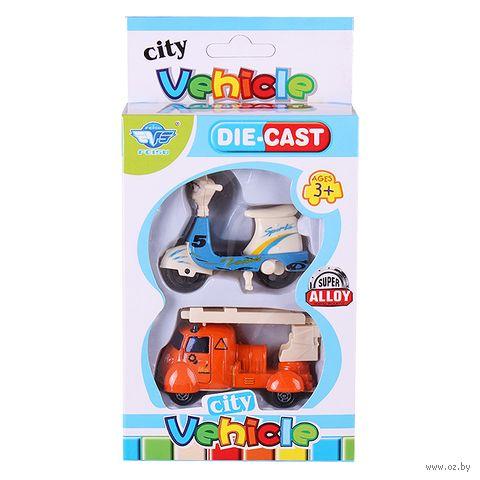 "Набор машинок ""City Vehicle"" (арт. DV-T-1147) — фото, картинка"