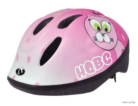 """Шлем велосипедный """"Funq Pink Cat Pink"""" (розовый; р. 48-54) — фото, картинка"""
