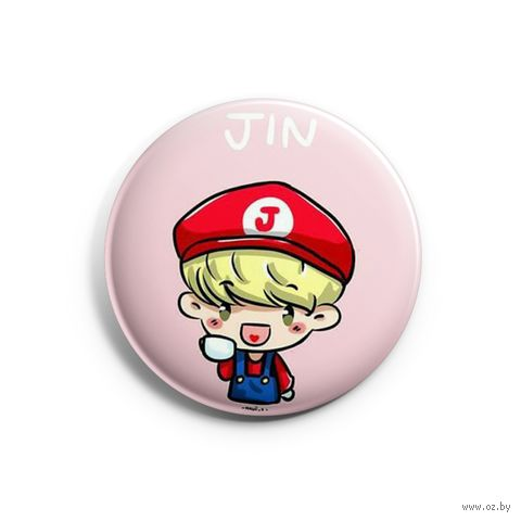"Значок маленький ""BTS. Jin"" (арт. 169) — фото, картинка"