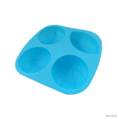 """Форма для выпекания силиконовая """"Мячи"""" (207х220 мм)"""