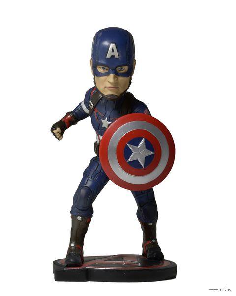 "Фигурка-нокер ""Neca. Мстители. Эра Альтрона. Капитан Америка"" (17 см) — фото, картинка"