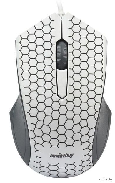 Проводная оптическая мышь Smartbuy ONE 334 (White) — фото, картинка