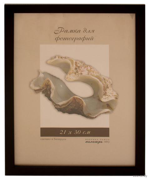 Рамка пластиковая со стеклом (21х30 см; арт. 1611/80) — фото, картинка