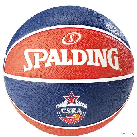 Мяч баскетбольный Spalding Euroleague CSKA №7 — фото, картинка