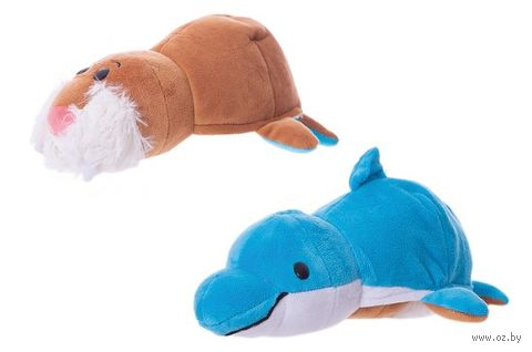 """Мягкая игрушка """"Вывернушка. Морж-дельфин"""" (20 см) — фото, картинка"""