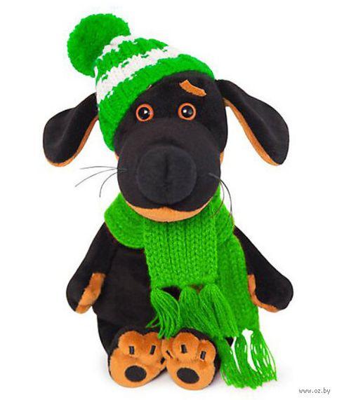 """Мягкая игрушка """"Ваксон Baby в шапочке и шарфе"""" (19 см) — фото, картинка"""