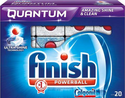 Таблетки для посудомоечных машин FINISH Quantum (20 шт)