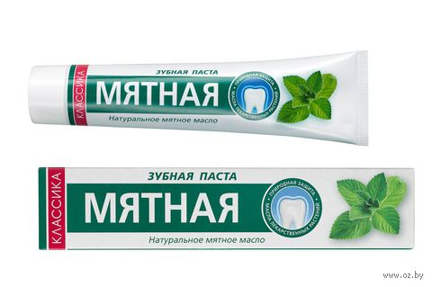 """Зубная паста """"Мятная"""" (150 г) — фото, картинка"""