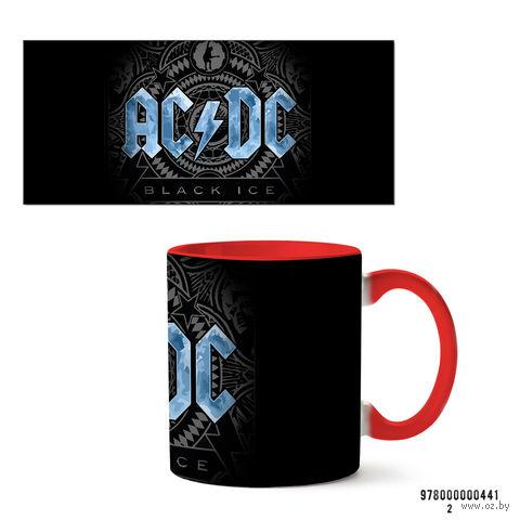 """Кружка """"AC/DC"""" (арт. 441, красная)"""