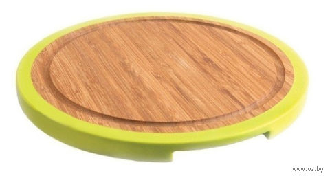 Доска разделочная бамбуковая (250х250х15 мм; арт. 1101675) — фото, картинка
