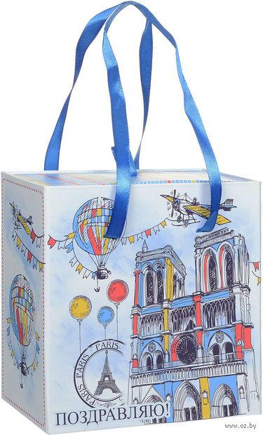 """Подарочная коробка """"Нотр-Дам"""" M (16х16х8 см; арт. 44282)"""