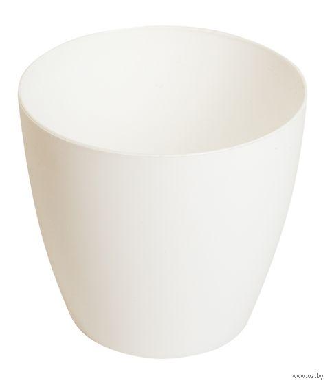 """Цветочный горшок """"Ага"""" (9,5 см; белый) — фото, картинка"""