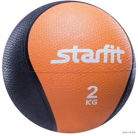 Медбол Pro GB-702 2 кг (оранжевый) — фото, картинка