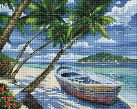 """Алмазная вышивка-мозаика """"Отпуск в раю"""" (400х500 мм) — фото, картинка"""