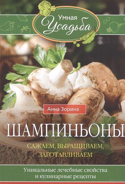 Шампиньоны. Сажаем, выращиваем, заготавливаем. Уникальные лечебные свойства и кулинарные рецепты — фото, картинка