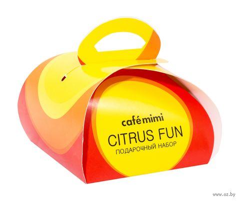 """Подарочный набор """"Citrus Fun"""" (мыло, бурлящий шар) — фото, картинка"""