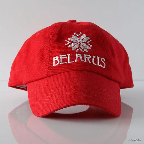 "Бейсболка Vitaem ""Belarus"" (красная)"