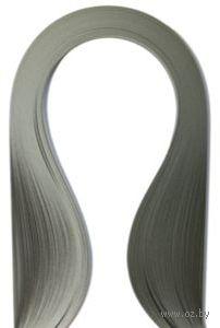 Бумага для квиллинга (300х3 мм; серый; 100 шт)