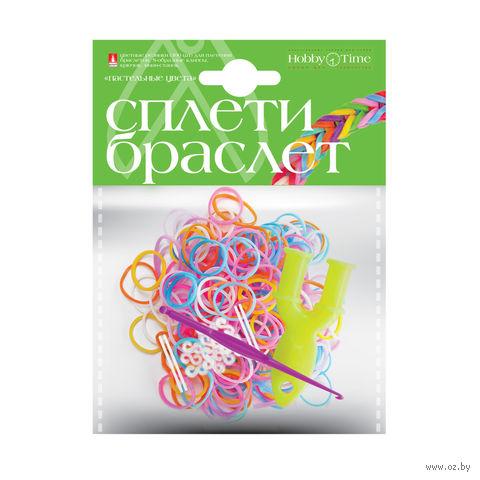 """Набор для плетения из резиночек """"Пастельные цвета"""" (300 шт.) — фото, картинка"""
