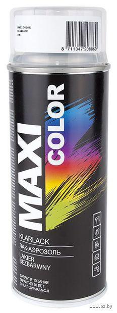 """Лак синтетический глянцевый """"Maxi Color"""" (бесцветный) — фото, картинка"""
