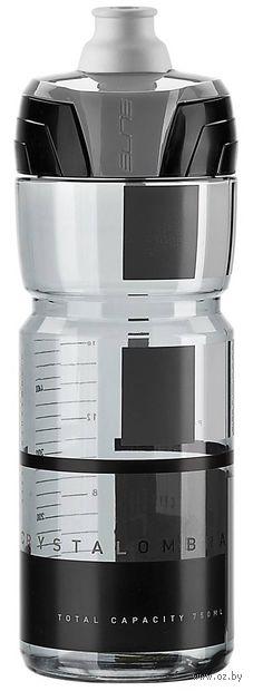 "Бутылка для воды ""Crystal Ombra"" (750 мл; прозрачно-чёрная) — фото, картинка"