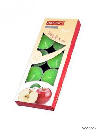 """Набор свечей ароматизированных """"Яблоко"""" (10 шт.; 15x40 мм) — фото, картинка"""