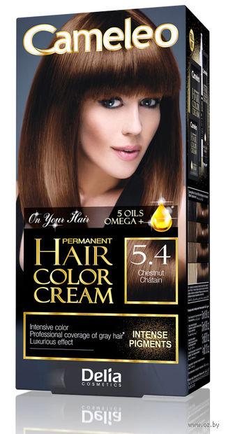 """Крем-краска для волос """"Cameleo"""" (тон: 5.4, каштановый) — фото, картинка"""