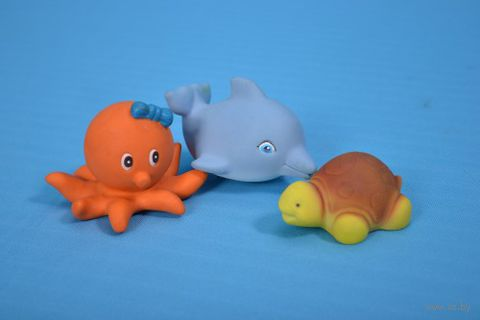 """Набор игрушек для купания """"Морской"""" (3 шт)"""