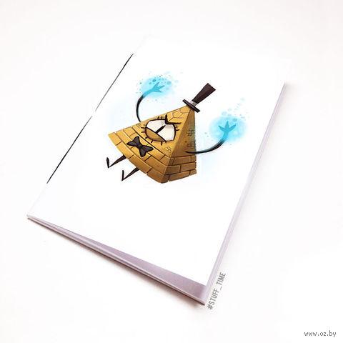 """Блокнот """"Гравити Фолз. Билл"""" (А5; арт. 861) — фото, картинка"""