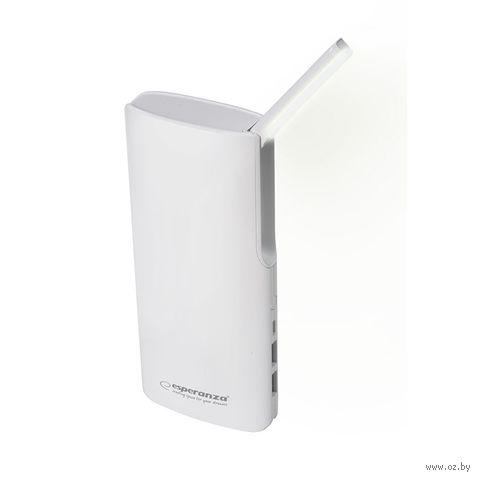 Внешний аккумулятор ESPERANZA RAY 11000 mAh (белый) — фото, картинка