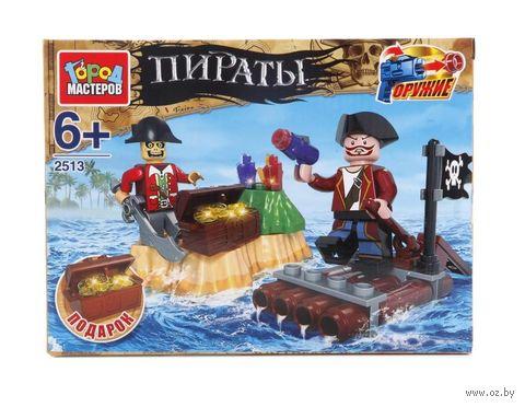 """Конструктор """"Пираты. Плот"""" (57 деталей) — фото, картинка"""